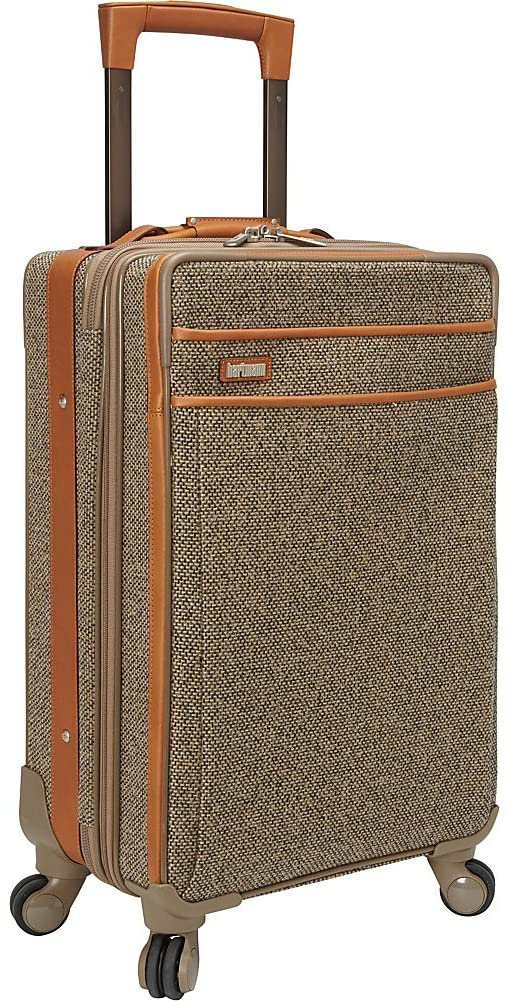 Hartmann Tweed Carry On Expandable Spinner Suitcase, 22-Inch