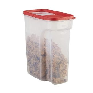 Rubbermaid 1856059 Modular Space Saving Cereal Storage Container