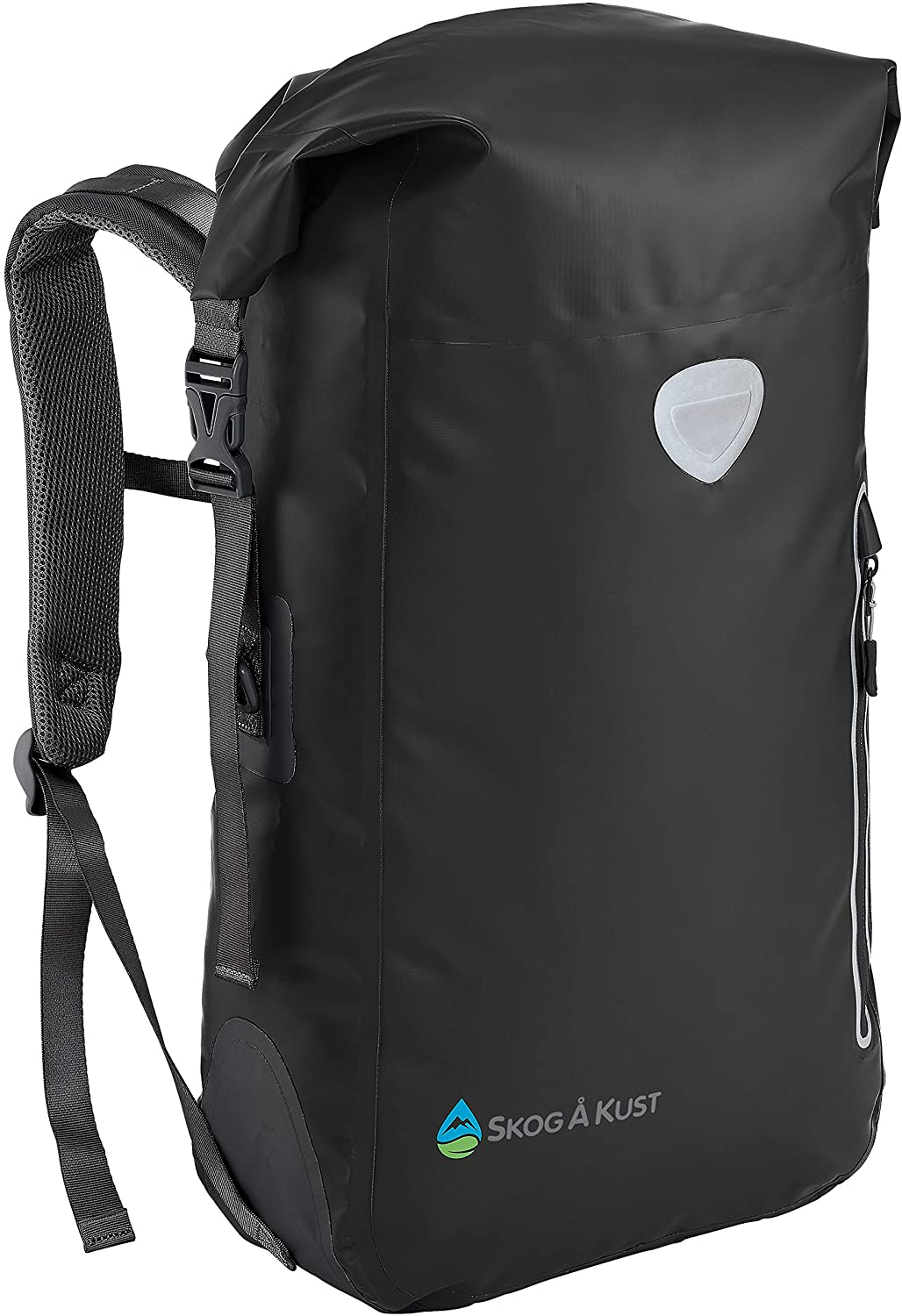 Skog Å Kust BackSåk Floating Waterproof Exterior Zippered Pocket Roll Top Backpack