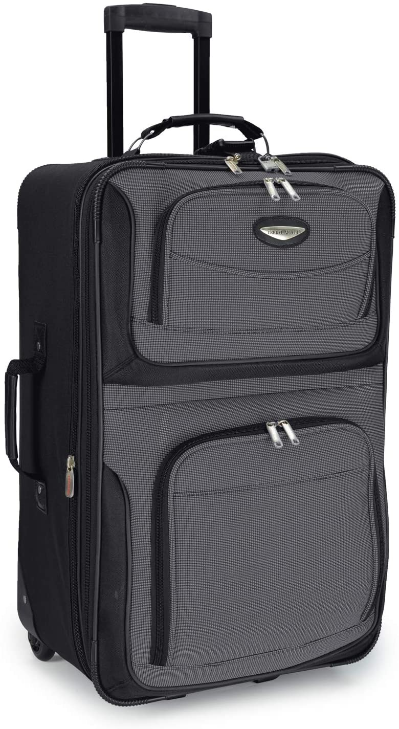 Travel Select Amsterdam Expandable Softside Suitcase, 25-Inch