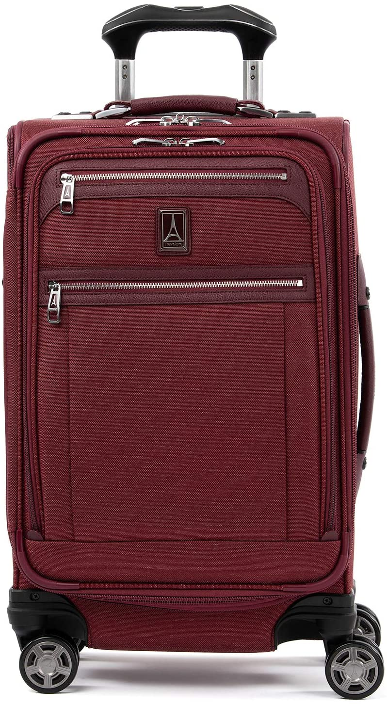 Travelpro Platinum Elite Softside Expandable Spinner Wheel Suitcase, 21-Inch