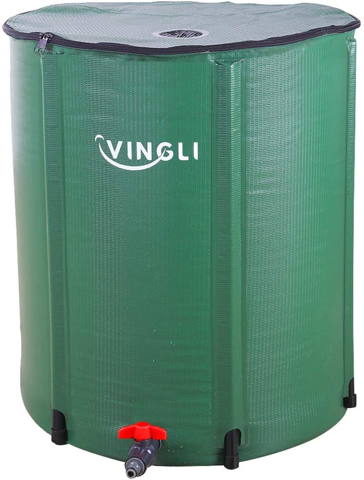 VINGLI Collapsible & Portable Water Storage Tank Rain Barrel