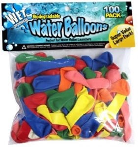 Wet Products Biodegradable Water Balloons, 100-Pack