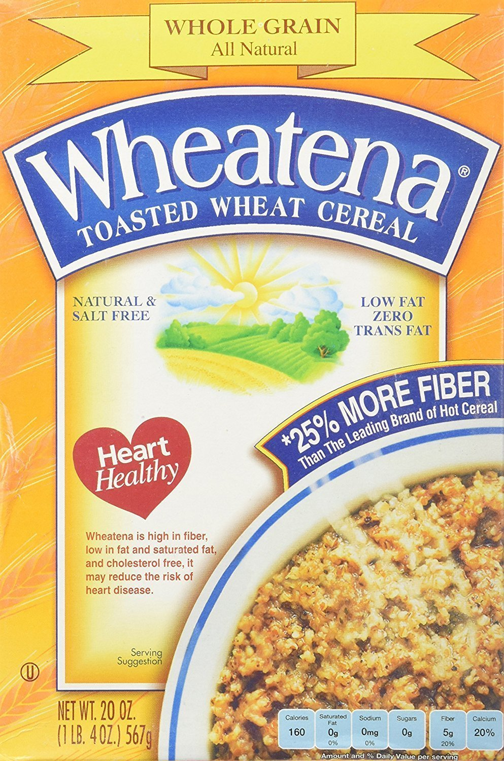 Wheatena Toasted All Natural Wheat Hot Cereal