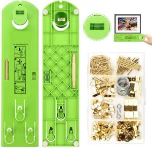 AURIDA Picture Hanging Kit, 222-Piece