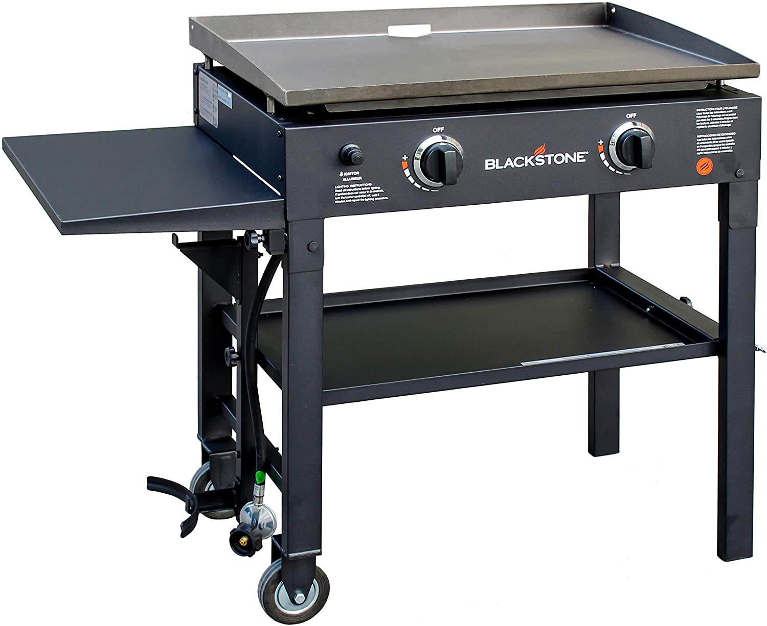 Blackstone Outdoor Flat Top 2-Burner Propane Fueled Gas Griddle