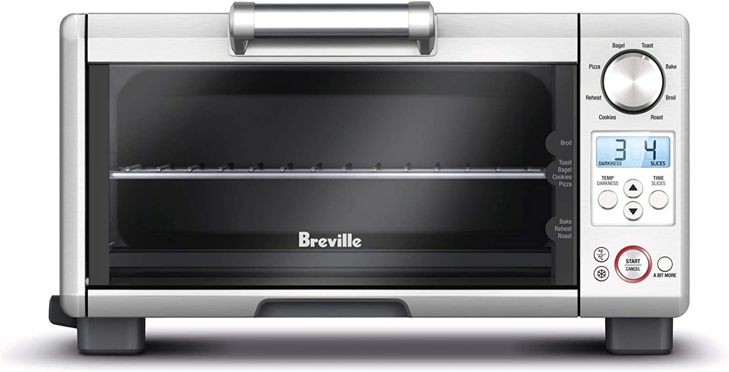 Breville BOV650XL The Compact Smart Countertop Electric Toaster Oven