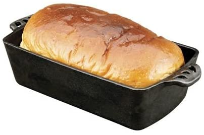 Camp Chef Home Seasoned Cast Iron Bread And Loaf Pan