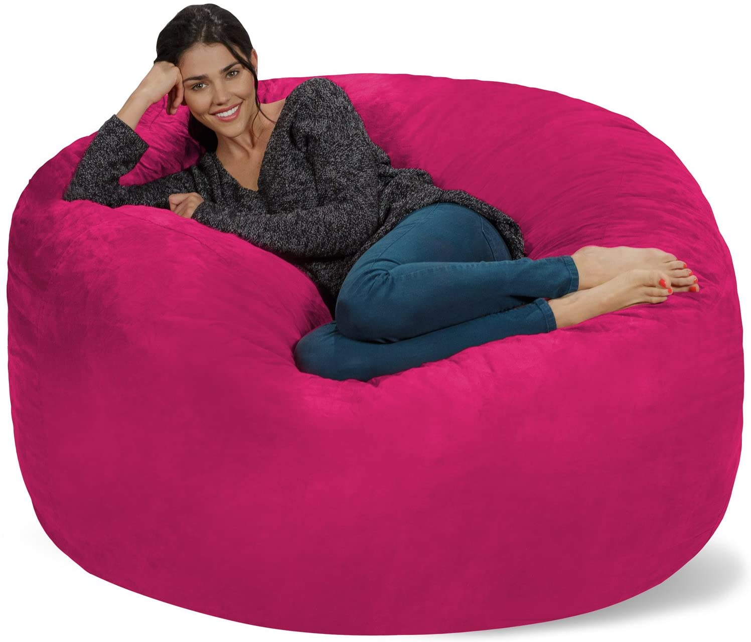 Chill Sack Memory Foam Oversized Bean Bag Chair