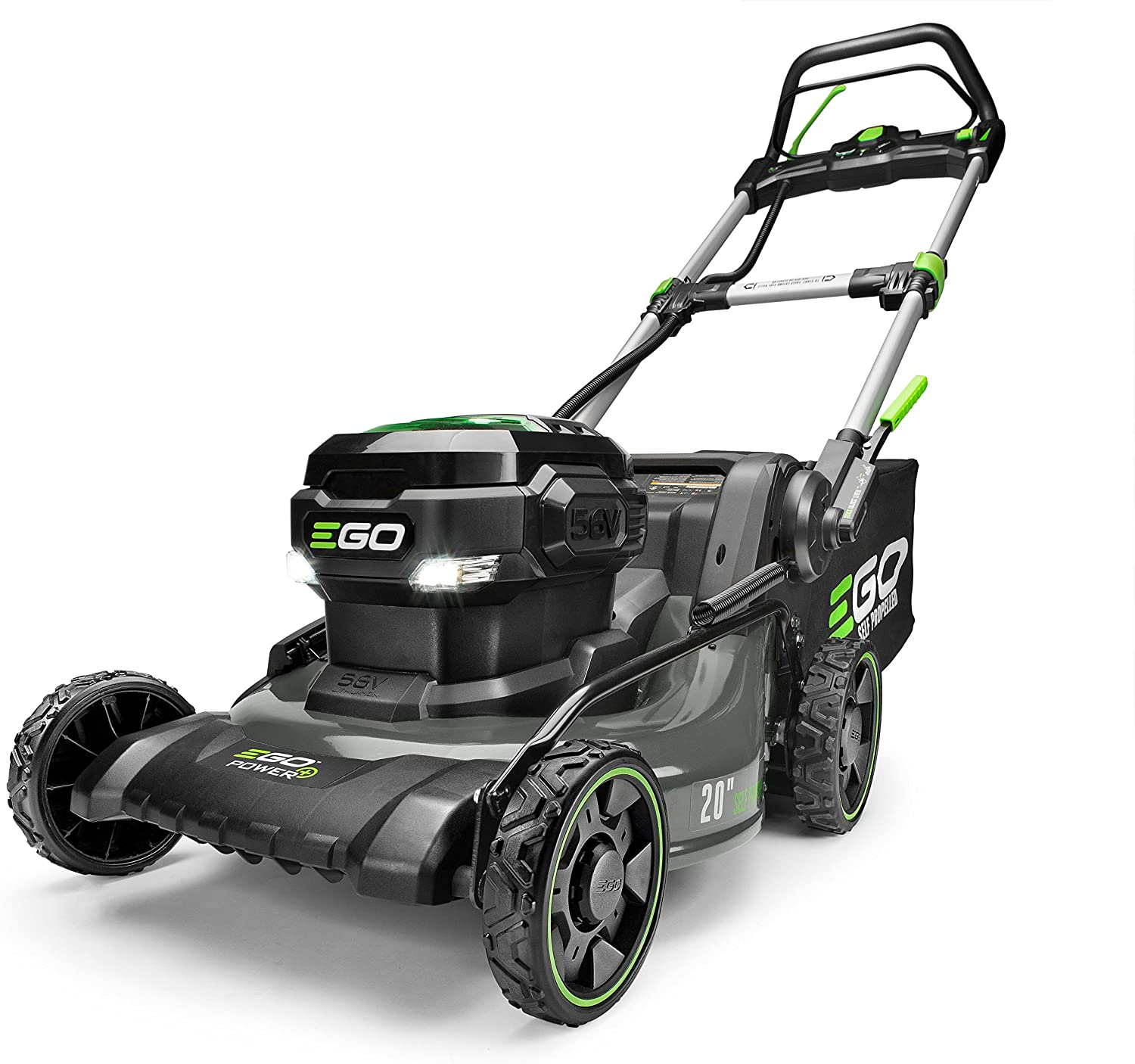 EGO Power+ LM2020SP Electric Self Propelled Lawn Mower, 20-Inch