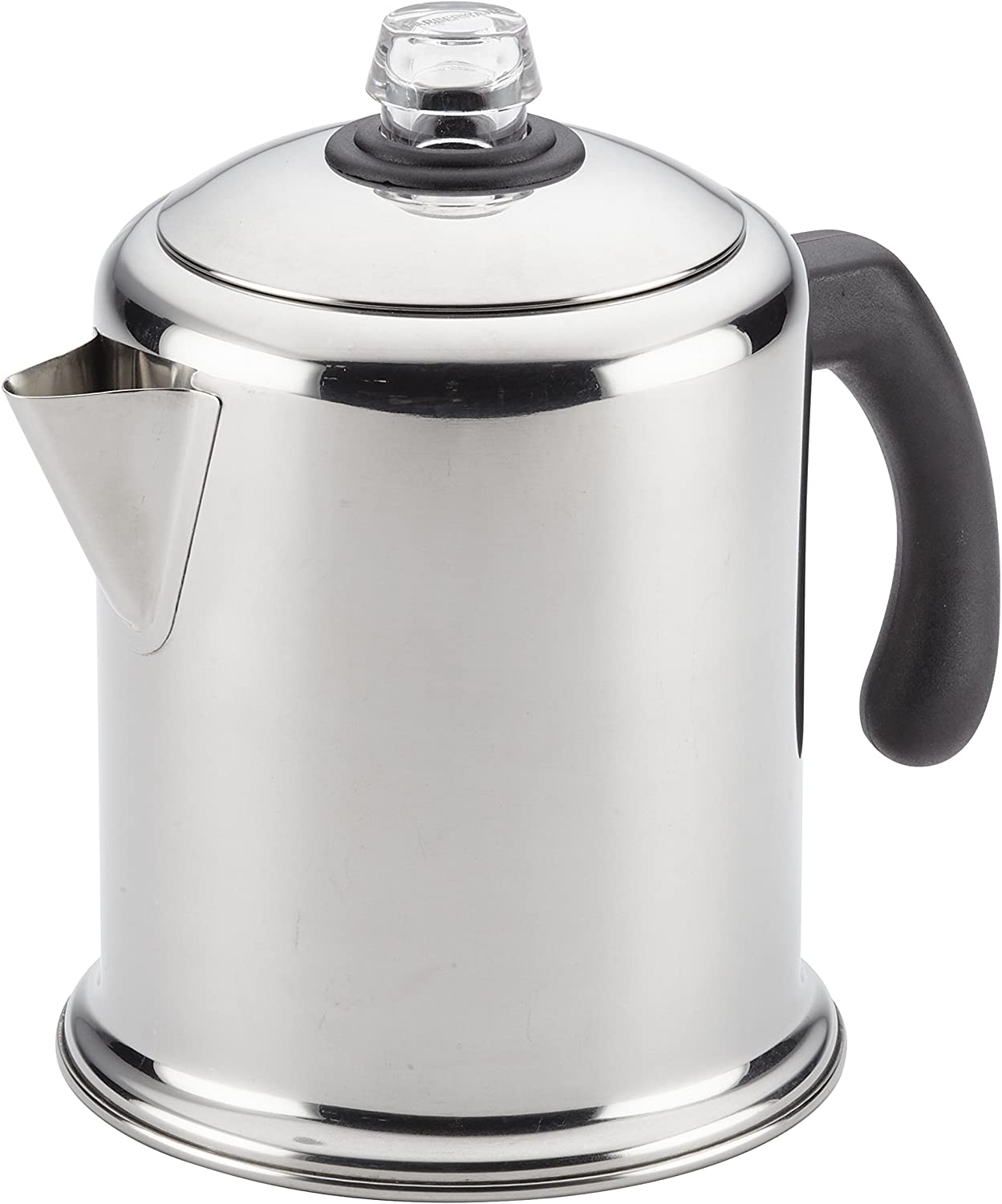 Farberware 47053 Classic Stainless Steel Yosemite Coffee Percolator, 12-Cup