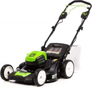 Greenworks PRO 80V Self-Propelled Cordless Lawn Mower, 21-Inch
