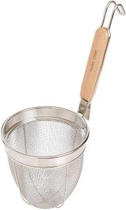 Helen's Asian Kitchen 97122 Mesh Spider Cooking Sieve Basket