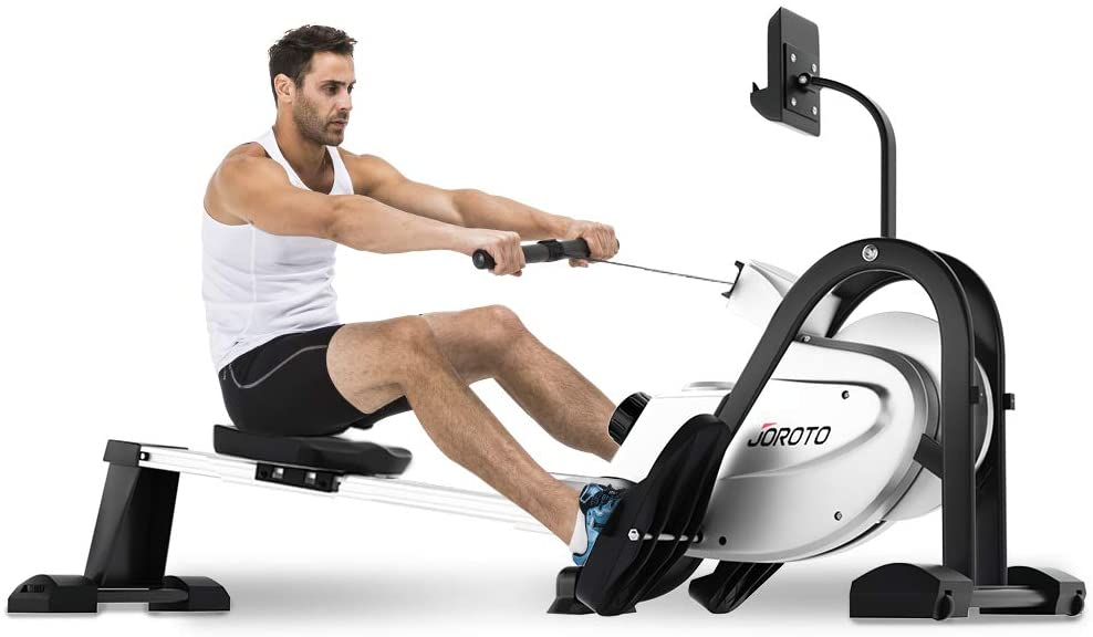 JOROTO LCD Display Magnetic Rowing Machine
