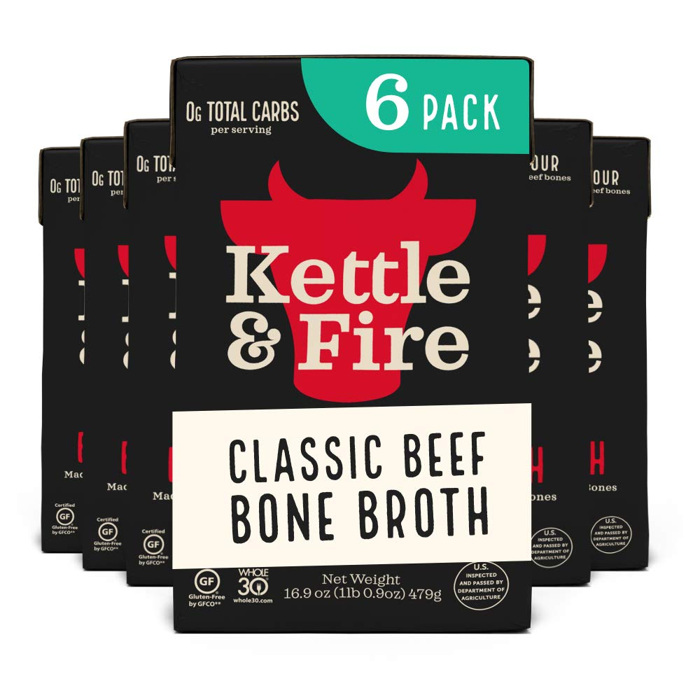 Kettle & Fire Organic Beef Bone Broth Soup