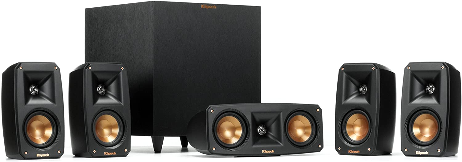 Klipsch Reference Theater Pack 5.1 Surround Sound System