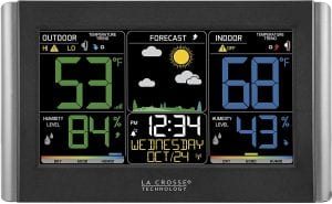 La Crosse Technology C85845-1 Color Wireless Forecast Weather Station