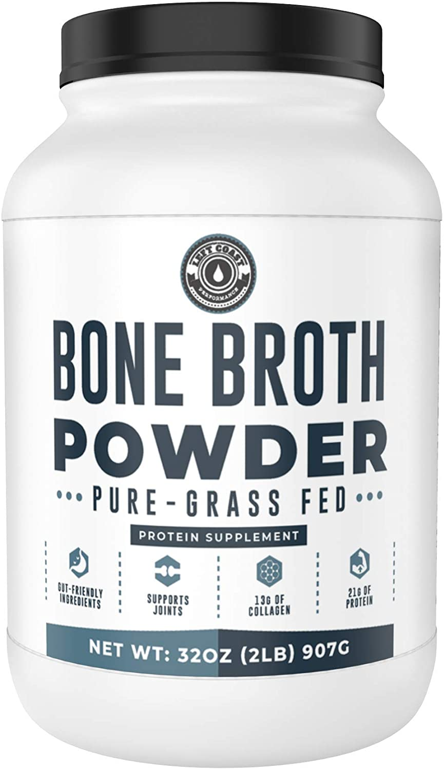 Left Coast Performance GRass-Fed Bone Broth Powder
