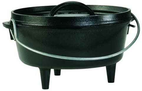 Lodge Camp Dutch Oven, 2-Quart
