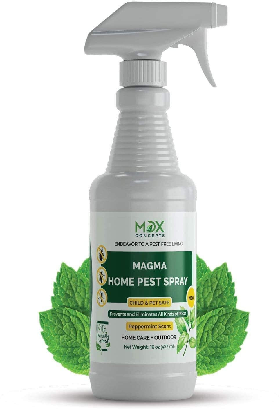 MDXconcepts Organic Home Pest Control & Roach Spray