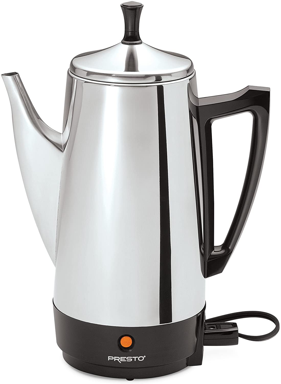 Presto 02811 Stainless Steel Coffee Percolator, 12-Cup