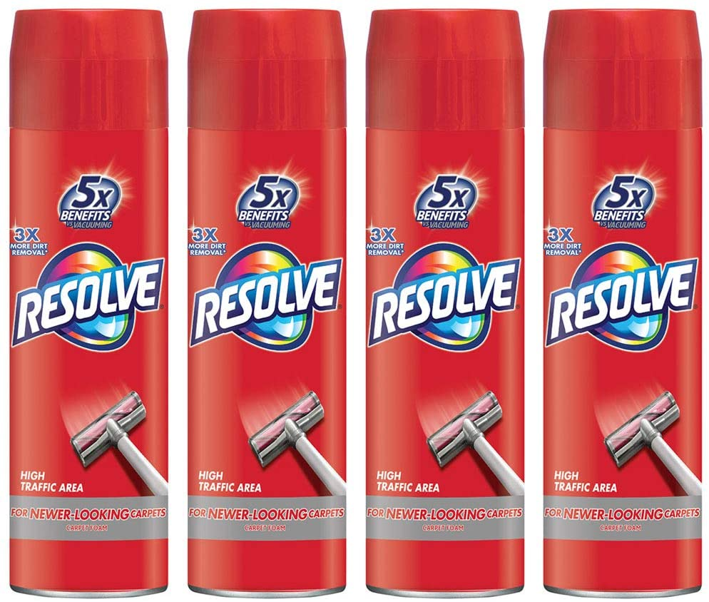 Resolve High Traffic Foam Carpet Stain Remover