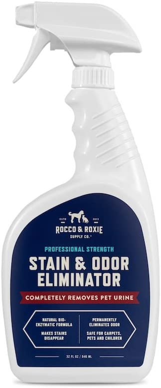 Rocco & Roxie Professional Strength Enzyme-Powered Pet Stain & Odor Eliminator