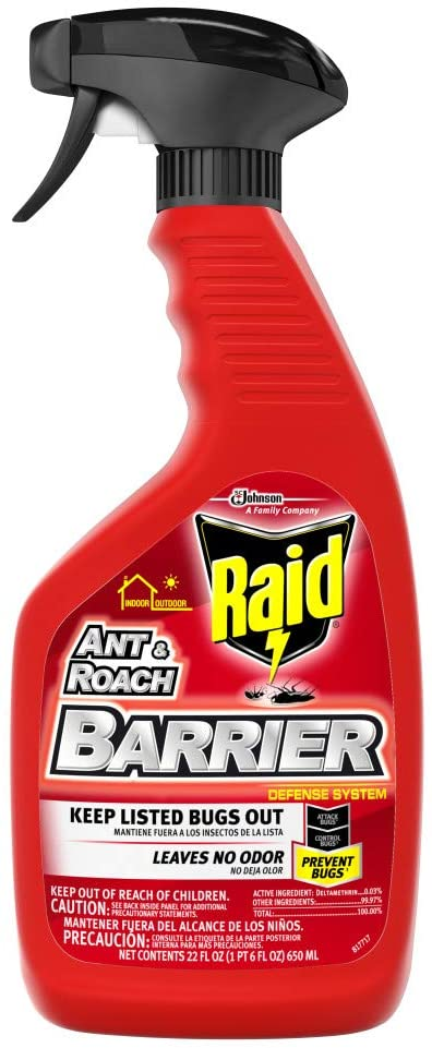 S C Johnson Wax Raid Ant & Roach Barrier Spray