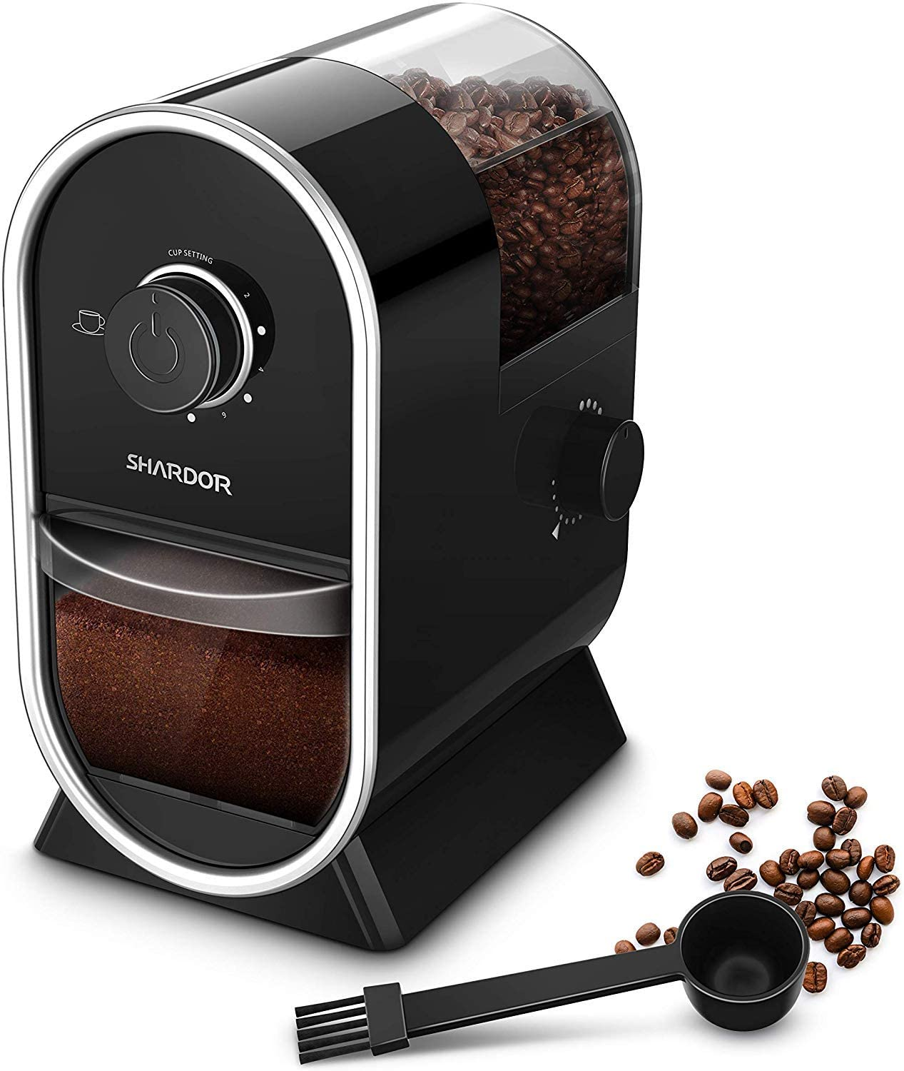 SHARDOR Electric Coffee Burr Grinder Mill