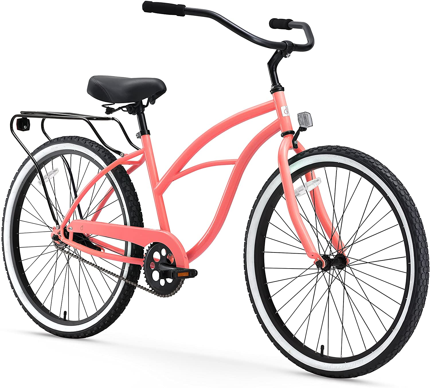 sixthreezero Around The Block Women's Cruiser Commuter Bike, 26-Inch
