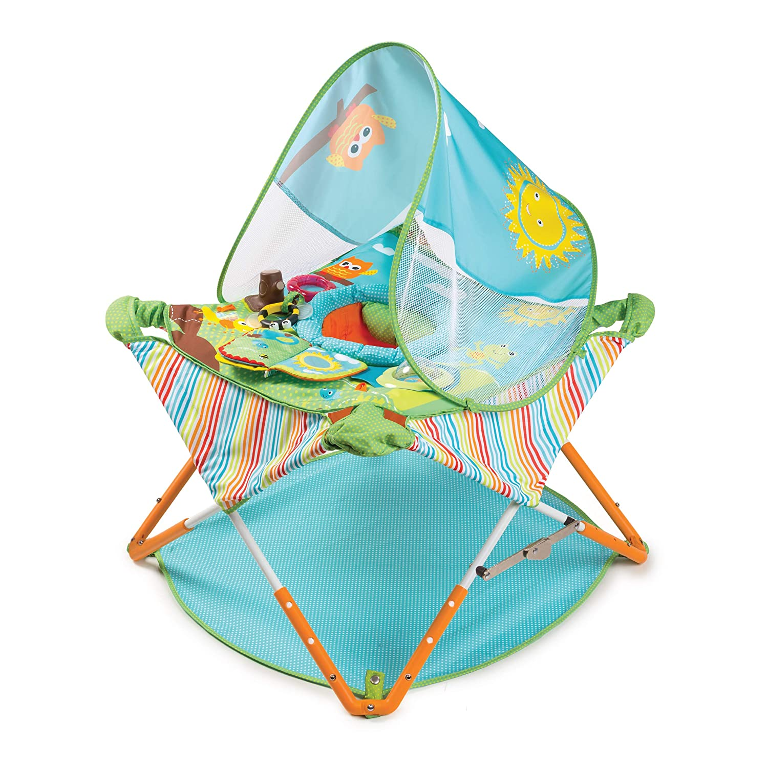 Summer Infant Pop 'N Jump Portable Lightweight Activity Baby Jumper