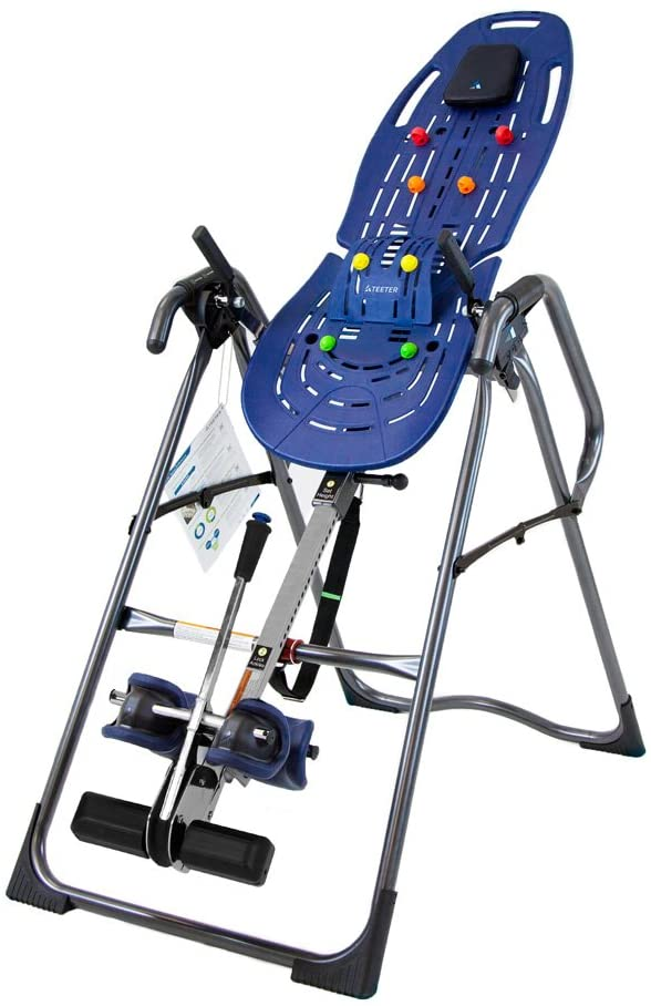 Teeter EP-970 FDA-Registered Deluxe Ankle Lock Inversion Table