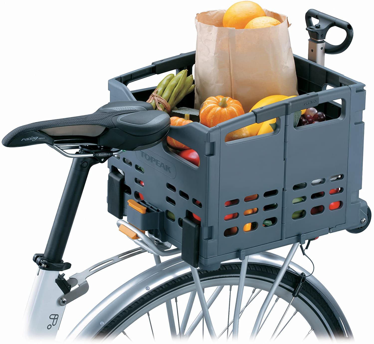 Topeak Trolley Tote Folding Bike Basket