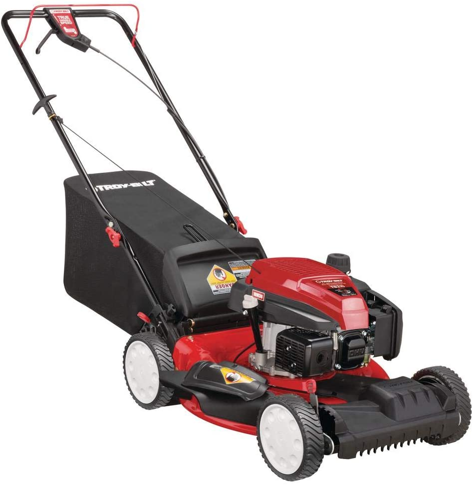 Troy-Bilt 159 cc Self Propelled Gas Lawn Mower, 21-Inch