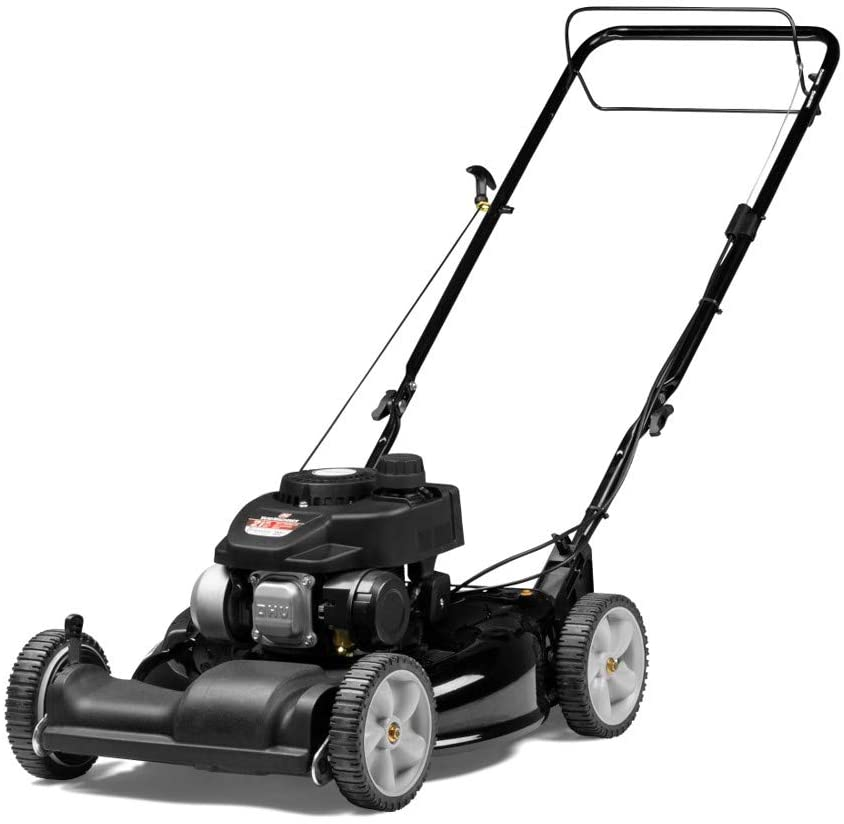 Yard Machines 140cc OHV Self Propelled Gas Lawn Mower, 21-Inch