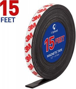3M Adhesive Magnetic Tape Roll