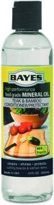 Bayes High-Performance Food Grade Mineral Wood & Bamboo Cutting Board Oil