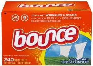 Bounce Fabric Softener & Dryer Sheets