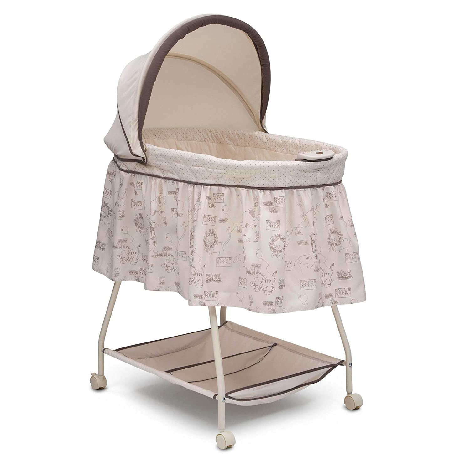 Delta Children Deluxe Sweet Beginnings Bassinet For Baby