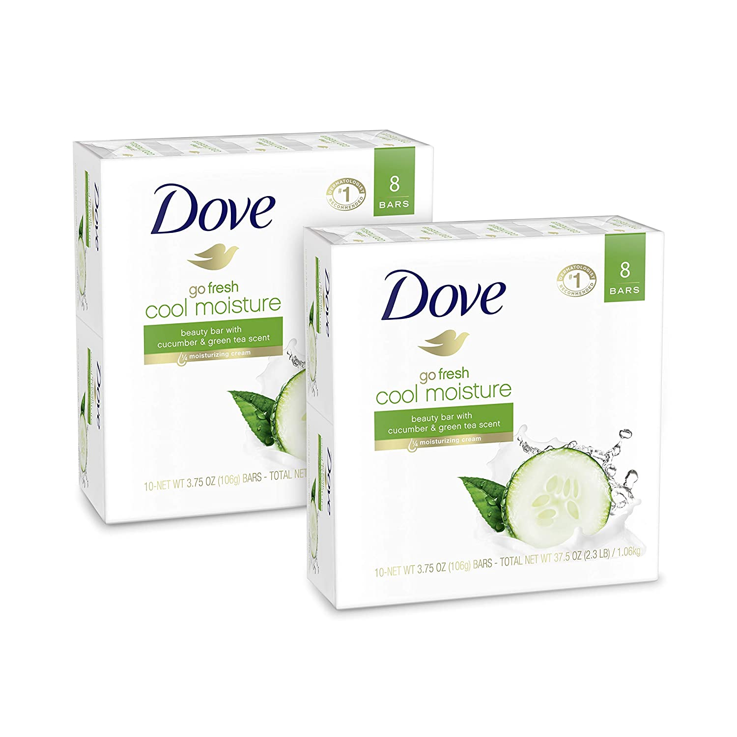 Dove Go Fresh Cucumber & Green Tea Bar Soap