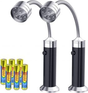 FIREOR Magnetic LED Barbecue Grill Light, 2-Pack