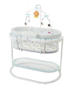 Fisher-Price Soothing Motions Bassinet For Baby