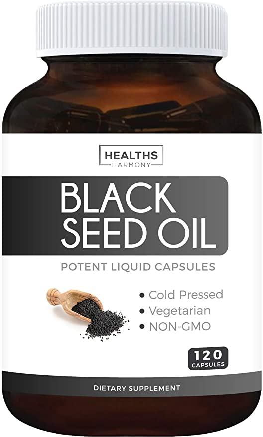 Healths Harmony Black Seed Oil Softgel Capsules