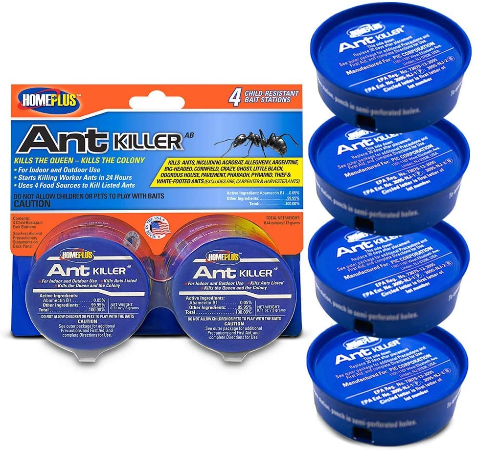 Home Plus Indoor & Outdoor Ant Bait Stations