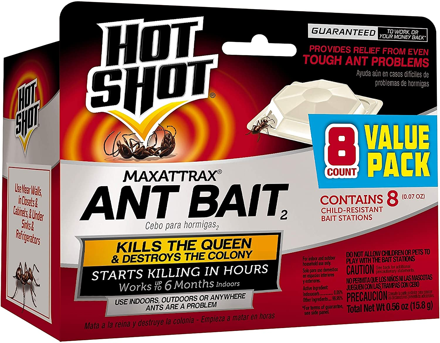 Hot Shot HG-2048 MaxAttrax Child-Resistant Ant Bait