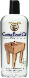 Howard Products BBB012 Food Grade Cutting Board Oil