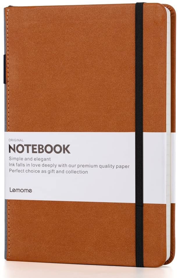 Lemome A5 Wide Ruled Hardcover Journal