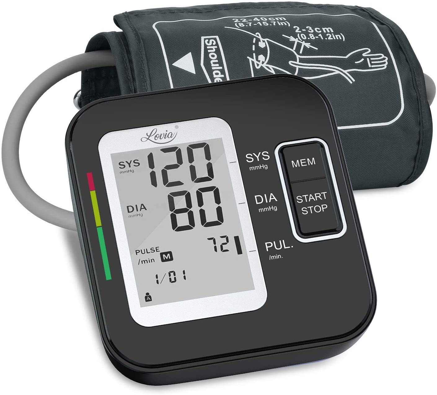 Lovia Upper Arm Automatic Sphygmomanometer