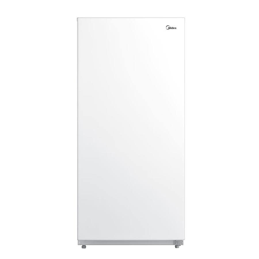 Midea MRU14F6AWW Upright Convertible Freezer, 13.8 Cubic Foot