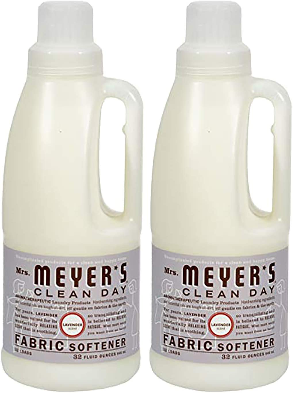 Mrs.Meyer's Clean Day Lavender Fabric Softener, 2-Pack